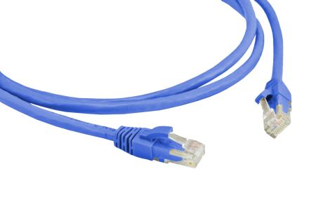 PATCH CABLE CAT.5E CM 2,5 MT. AZ