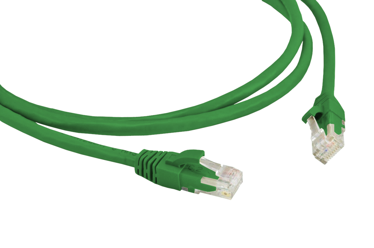 PATCH CABLE CAT.5E CM 1,5 MT. VD