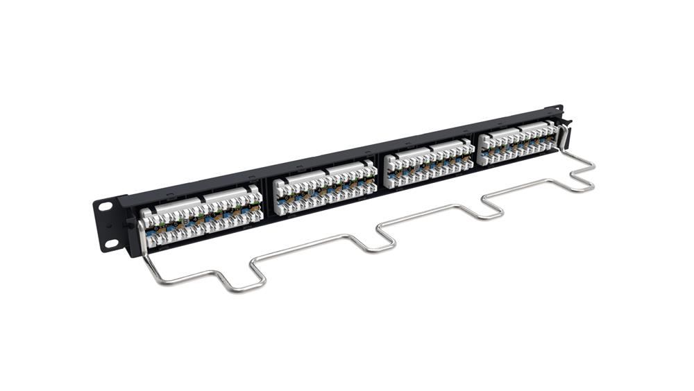 PATCH PANEL 24P RJ-45 PS    CAT5e