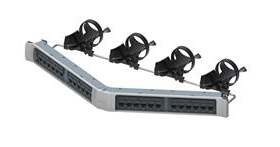 PATCH PANEL 24P RJ45 360 CAT6 ANGUL